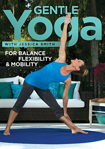 Gentle Yoga for Balance, Flexibility and Mobility, Relaxation, Stretching for All Levels [DVD]