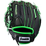Franklin Sports Windmill Series 12-Inch Lightweight Softball Glove, Lime/Gray, Left Hand