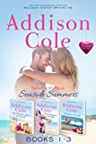 Sweet with Heat: Seaside Summers, Contemporary Romance Boxed Set, Books 1-3: Read, Write, Love at Seaside - Dreaming at Seaside - Hearts at Seaside