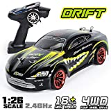 GPTOYS Rc Cars 18km/h Drift High Speed Remote Control Car 1:26 2.4Ghz 4WD S918