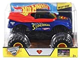 Hot Wheels Monster Jam Superman Die-Cast Vehicle, 1:24 Scale