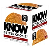 KNOW Foods Gluten Free, Low Carb, Protein Cookies, Cinnamon, 4g Net Carbs - 4 Count