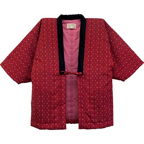 HANTEN (Cotton jacket made in Japan Kimono-style) Ladies' (Medium, 98)