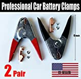 4PCS - Heavy Duty Jumper Starter Booster Cable Car Battery Charger Clamp