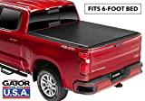 Gator ETX Soft Roll Up Truck Bed Tonneau Cover | 53113 | fits 15-19 GM Colorado/Canyon , 6' Bed | Made in the USA