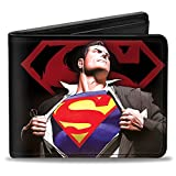 Buckle-Down Wallet Superman Forever Clark Kent-superman Transition/shiel Accessory