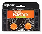 KontrolFreek FPS Freek Vortex for Xbox One Controller | Performance Thumbsticks | 1 High-Rise Convex, 1 Mid-Rise Concave | Orange