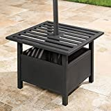 BrylaneHome Umbrella Stand Side Table (Oil Rubbed Bronze) - Oil Rubbed Bronze