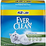 Ever Clean Extra Strength Litter, Unscented, 42 Pounds