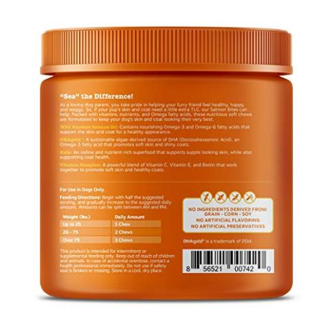 Salmon-Fish-Oil-Omega-3-for-Dogs-With-Wild-Alaskan-Salmon-Oil-Anti-Itch-Skin-Coat-Allergy-Support-Hip-Joint-Arthritis-Dog-Supplement-Natural-Omega-3-6-EPA-DHA-90-Chew-Treats