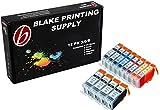 Blake Printing Supply 12 Pack Compatible CLI 8 , CLI-8 , CLI8 , PGI 5 , PGI-5 , PGI5 4 Big Black, 2 Cyan, 2 Magenta, 2 Yellow, 2 Small Black for use with PIXMA iP3300, iP3500, iP4200, iP4200x, iP4300, iP4500, iP5200, iP5200R, iP5300, iX4000, iX5000, MX700, MX850, Pro9000, Pro9000 Mark II, iP6600D, iP6700D. iP-3300, iP-3500, iP-4200, iP-4200x, iP-4300, iP-4500, iP-5200, iP-5200R, iP-5300, iX-4000, iX-5000, MX-700, MX-850, Pro-9000, Pro-9000 Mark II, iP-6600-D, iP-6700-D.