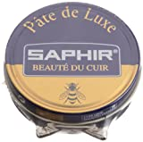 Saphir Shoe Polish - Pate De Luxe - 50 Ml - Made in France (Dark Brown)