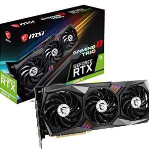 MSI Gaming GeForce RTX 3060 Ti 8GB GDRR6 256-Bit HDMI/DP Tri-Frozr 2 TORX Fan 4.0 Ampere Architecture RGB OC Graphics…