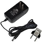 HQRP AC Power Adapter for Walgreens BA-507S / BA-716W / BD-7181W / BD-3000S / BF-180M / BSD-3007 / BSP-4007 Blood Pressure Monitor [UL Listed] plus HQRP Euro Plug Adapter