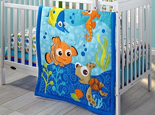 Disney Nemo 3 Piece Crib Bedding Set