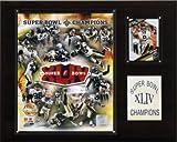 NFL Santos Super Bowl XLIV Limited Edition Plaque