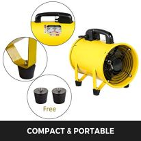 VEVOR-Utility-Blower-Fan-8inch-Portable-Ventilator-1500mh-1900rpm-2800rpm-High-Velocity-Two-Speed-Cylinder-Fan-230W-110V