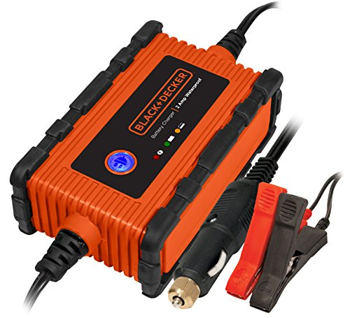 2. Black & Decker BC2WBD 2 Amp Waterproof Charger and Maintainer