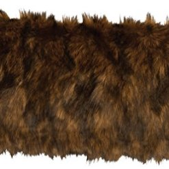 Grizzly Faux-Fur-Pillow