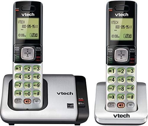 VTech CS6719-2 2-Handset Expandable Cordless Phone with Caller ID/Call Waiting, Handset Intercom & Backlit Display/Keypad 13