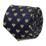 CUFFLINKS INC Superman Shield Navy Tie (Navy)
