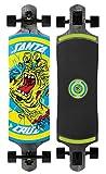 Santa Cruz Skateboards Rob Hand Foot Stop Black Drop Thru Cruzer Skateboard, 10' x 40', Multicolor