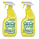 Simple Green Lemon Scent All-Purpose Cleaner, 24oz Trigger Spray, Pack of 2