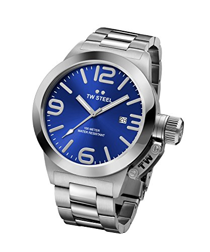 51zH9bXjtSL Automatic watch with stainless steel bracelet and case featuring date display Durable reinforced mineral crystal with sapphire layer Quartz Movement