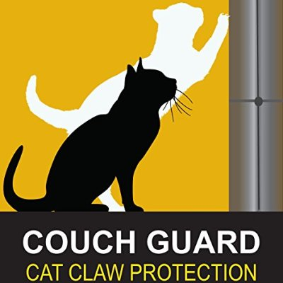COUCH GUARD. The CAT Claw Protector. PINLESS SELF-Adhesive Protector...