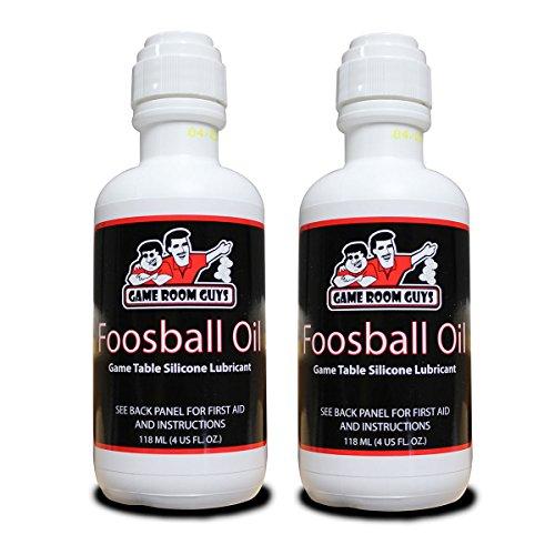 Game Room Guys Package of 2 4 oz Bottles of Foosball Oil