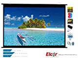 Elcor Map Type Projector Screens 4ft.x6ft.-84' Diagonal In 4:03 Aspect Ratio, Ultra HD, Active 3D, and HDR Ready