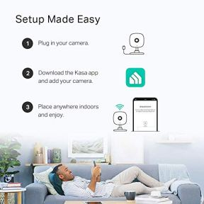 Kasa-Indoor-Smart-Home-Camera-by-TP-Link-1080p-HD-Security-Camera-Wireless-24GHz-with-Night-Vision-Motion-Detection-for-Baby-Monitor-Cloud-SD-Card-Storage-Works-with-Alexa-Google-Home-EC60