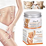 Anti Cellulite Cream, Slimming Cream, Skin Firming Cream, Organic Body Slimming Cream, Natural Cellulite Treatment Cream for Thighs, Legs, Abdomen, Arms and Buttocks, for Body Sculpting &Removing Stre