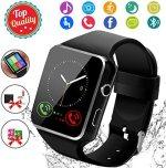 Tech :  Montre intelligente, montre-bracelet à écran tactile Bluetooth Smartwatch avec appareil photo / SIM  infos , tests