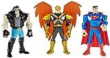 Mattel DC Justice League Mighty Minis Superman, Lobo, and Hawkman Mini Figure, 3 Pack
