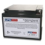 Lectronic Kaddy 2000 12V 26Ah Motorcaddy & Golf Caddy Battery Replacement