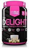 FitMiss Delight Protein Powder, Healthy Nutritional Shake for Women, Whey Protein, Fruits, Vegetables and Digestive Enzymes, Support Weight Loss and Lean Muscle Mass, Vanilla Chai, 2-Pound