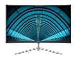 AOC C32V1Q 31.5' Full HD 1920x1080 Monitor, Curved VA Panel, 4ms 75hz, Frameless, HDMI/DisplayPort/VGA, FlickerFree, Low Blue Mode, VESA