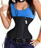 Product review for Latex Lumbar Back Brace 14 steel bones Waist Trainer Corset For Weight Loss