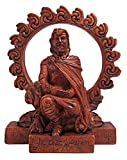 Dryad Design Small Celtic God Lugh Statue Wood Finish