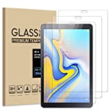 [2 Pack] JBAO Direct Samsung Galaxy Tab A 10.5 Screen Protector 2018,[Anti-Scratch][No Bubble][Anti-Fingerprint] 9H Tempered Glass for Galaxy Tab A SM-T590 (Wi-Fi) & SM-T595 (LTE) Tablet(10.5 inch)