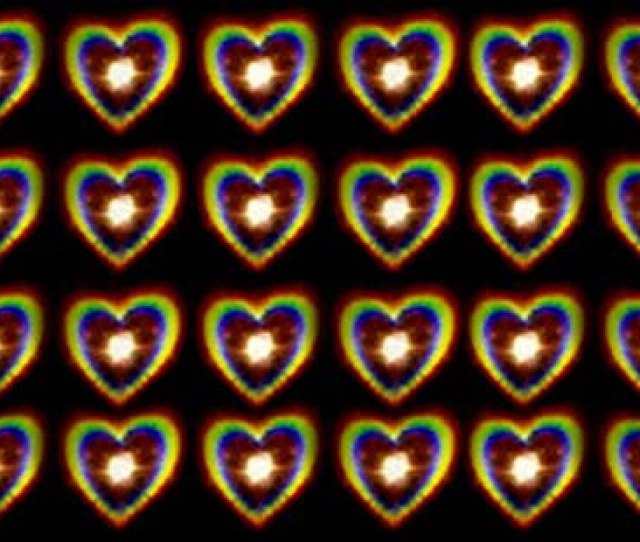 Holographic Hearts Film Size A Bokeh For Camera Glasses Heart