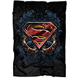 "ARLSTORE I Am Superman Soft Fleece Throw Blanket, Son of JOR El Fleece Luxury Blanket (Medium Blanket (60""x50""))"