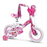 12' Disney Princess Girls Bike by Huffy, Choose Your Own Princess Basket