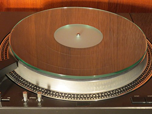 Purest Audio PA-602-V2 Glass Crystal Turntable Record Player Platter Mat