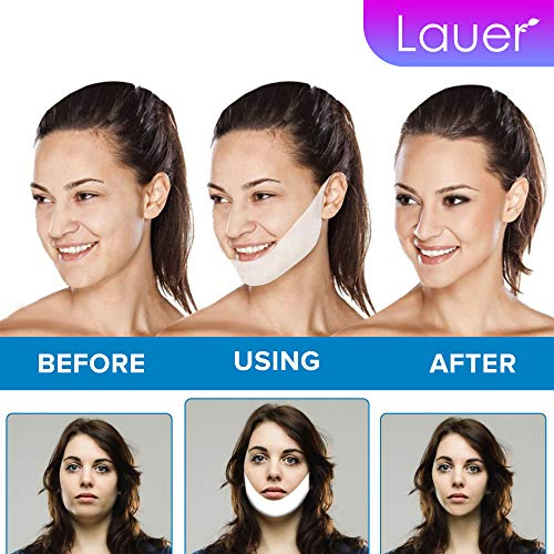 V Shaped Slimming Face Mask Double Chin Reducer V Line Lifting Mask Neck Lift Tape Face Slimmer Patch For Firming and Tightening Skin 6