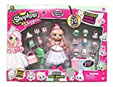 Shopkins Shoppies Bridie Exclusive Super Shopper Pack - Bride Doll Wedding Fashion Shopping Spree (20+Piece) Pink