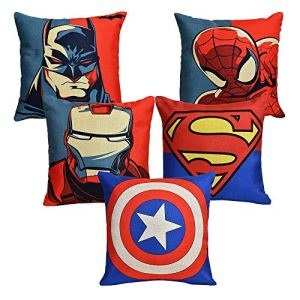 Avenger Printed Cushion Cover