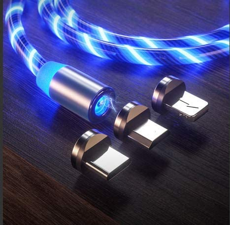 Le tide LED Flowing Magnetic Charging Cable