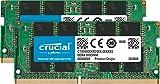 Crucial 32GB Kit (16GBx2) DDR4 2400 MT/s (PC4-19200) DR x8 SODIMM 260-Pin Memory - CT2K16G4SFD824A